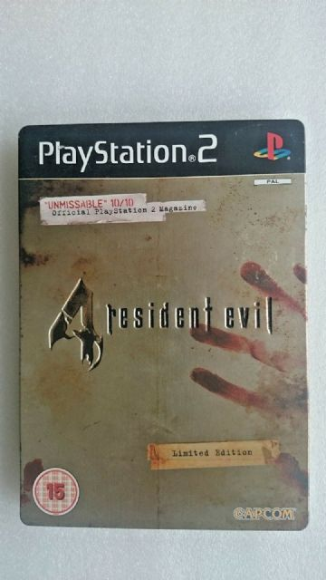 Resident Evil 4 -- Limited Edition (Sony PlayStation 2, 2005)